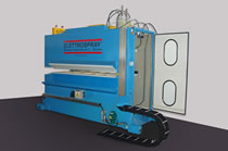 Electrostatic oiling machine